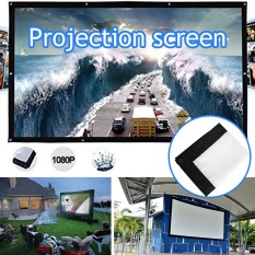 Proyeksi Tirai Proyektor Layar 4:3 Berkualitas Tinggi HD Rumah Theater Gereja-Internasional