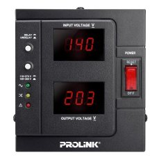 Spek Prolink Stabilizer Avr Pvr1000D 1000Va With Lcd Display