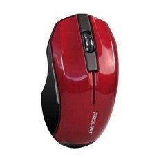 Harga Prolink Wireless Mouse Pmw6001 Merah Seken
