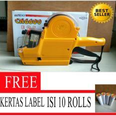 PROMO Alat label harga ( Price labeller ) CN-6600 eos GRATIS Kertas  label