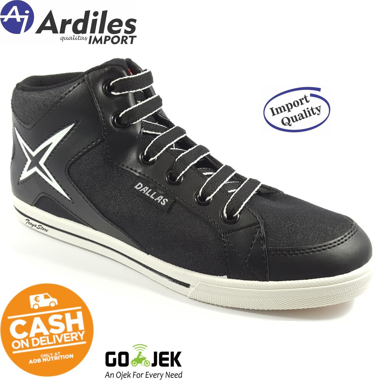 RAJASEPATU - ARDILES Sepatu Pria Sneakers DALLAS Original 33-42   Sepatu  Sekolah Anak Laki ebe656077d
