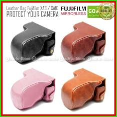 [PROMO] Fujifilm X-A3/XA3 Leather Bag/Case/Tas Kamera