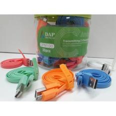 Promo Kabel Data Charger ORIGINAL DAP DPM-100 1 TOPLES - Micro USB isi 30pc original