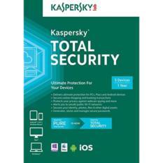 Spesifikasi Promo Kaspersky Total Security Pure 2017 2018 5 Pc 1 Tahun Lengkap Dengan Harga