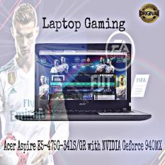 Promo... Laptop Acer Aspire E5-475G-341S GR Core I3-6006U Ram 2GB Hdd 500GB With NVIDIA Geforce 940MX - Free Mouse & Mousepad