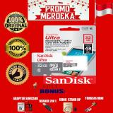 Jual Promo Merdeka Sandisk Memory Card Ultra Micro Sdhc Class 10 48Mb S 32Gb Gratis Reader 2In1 Iring Stand Hp Sim Card Adapter Tongsis Mini