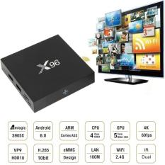 PROMO MURAH - Android TV Box X96 4K RAM 2GB ROM 16GB-S905X 4Core