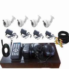 Promo Promo Paket Cctv 4 Camera Outdoor 2Mp Dvr 4Chanel Solid