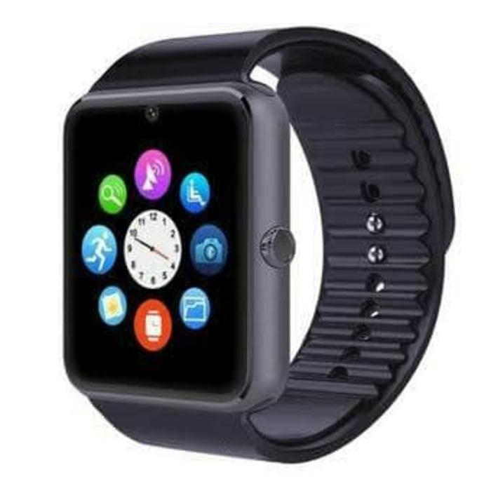 PROMO SMART WATCH GT08 SMARTWATCH JAM TANGAN HP PINTAR ANDROID TERLARIS