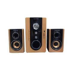 PROMO SPEAKER MULTIMEDIA POLYTRON PMA 9300 GOLD-WHITE BLUETOOTH ORIGINAL