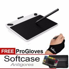 Harga Promo Wacom Intuos Draw Ctl490 Pen Tablet White Free Softcase Antigores Dan Glove Terbaik
