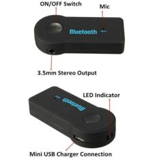 promo Wireless Bluetooth Hands-free Car Home Stereo Audio Music Receiver original