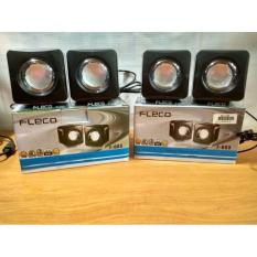 PROMO~Mini Speaker Fleco Usb F-003 ( F003) ORIGINAL