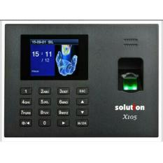 Harga Promoo Mesin Absensi Fingerprint Sidik Jari Solution X105 Termahal