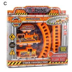Promosi Anak Kartun Elektrik Kereta Kereta Api With Jalur Set Mainan Pendidikan-Internasional
