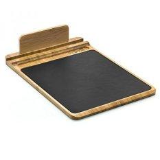 Pilihan Prosumer Bambu Multifungsi Mouse Pad dan Desk Organizer dengan Pen Holder dan Tablet atau Smartphone Stand-Intl