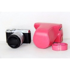 Pelindung Kualitas Tinggi Pu Sarung Kamera Kulit Penutup Tas Forfujifilm XM1 XA1 XA2-Intl