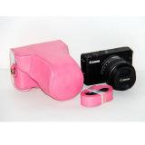 Spesifikasi Pelindung Kamera Kulit Pu Penutup Tas With Tali Bahu For Canon Eos M Eos M2 Eos M10 Tidak Termasuk Kamera Mawar Internasional Yang Bagus