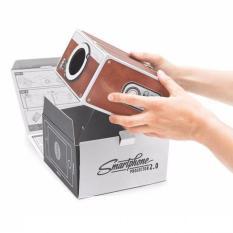 Proyektor Smartphone Portabel Cardboard 2.0/ Proyektor Hp