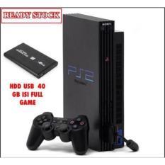 PS2 Fat Hardisk 40Gb Ekternal Paket Lengkap