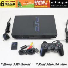 PS2 Lengkap - Sony PS2 HDD160GB - GARANSI 1 TAHUN FULL SPAREPART- Free 2 Stik -150 Games Terbaru - Grade A