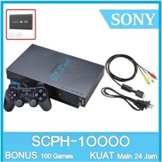 PS2 Sony - Sony Playstation Fat HDD 80GB  - 100 Game