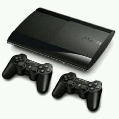 Ps3 Super Slim + Hdd 500gb + 2 Stick Getar + Full Games + BISA ONLINE SEMUA GAMES