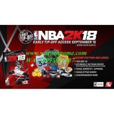 PS4 NBA 2K18 NBA 2018 NBA18 Legend Ed (R3 / Reg 3 / Eng- PS 4 Game)