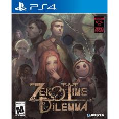 PS4 Zero Escape : Zero Time Dilemma (Basic) Digital Download