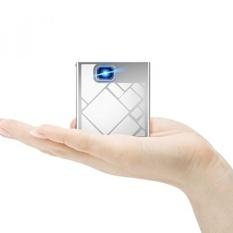 PSRAT Cube Pico Proyektor, mini Home Theater Game Proyektor Proyektor Mendukung 120 Inch Layar 1080 P 120 Min WIFI HDMI SD Card untuk IOS /Android/Laptop/iPad/USB-Termasuk Mini Tripod-Intl
