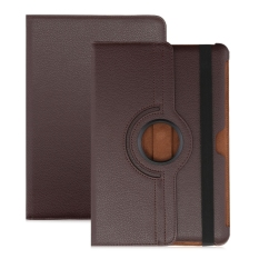 PU Leather 360 Degree Rotating Back Case Holder Protective Cover for Samsung Galaxy Tab 2 10.1 P5100 / P5110 / P7500 / P7510 - intl