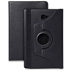 PU Leather 360 Degree Rotating Back Case Holder Pelindung Cover untuk Samsung Galaxy Tab A/A6 10.1/P580 /P585-Intl