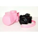 Dimana Beli Pu Kulit Tas Kamera Kantong Untuk Menutupi Kasus Ilce 7 7R A7 A7R 24 70Mm Lens Dengan Shoulder Strap Intl Oem