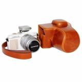 Harga Pu Leather Camera Bag Case Cover Pouch Dengan Strap Untuk Olympus Pen E Pl7 Epl7 E Pl8 Epl8 Dengan 14 42 Mm Intl Termurah
