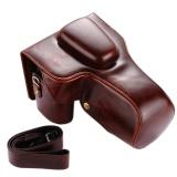 Jual Beli Pu Leather Bag Bag Cover Dengan Tripod Desain Untuk Canon Eos 450D 500D 550D 600D 650D 600D 700D 750D 760D 1100D 1200D Kamera Tidak Termasuk Intl