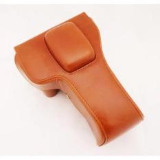PU Leather Bag Bag Cover dengan Tripod Desain untuk Canon EOS650D/600D/700D Brown (Camera Not Termasuk) -Intl