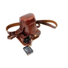PU Kulit Tas Bag dengan Tripod Desain Compatibleforfujifilmx-A1 XA1 X-A2 XA2 X-M1 XM1 dengan 18-55 MM Lensa 16-50 Mm (Hitam) (Luar Negeri)-Internasional