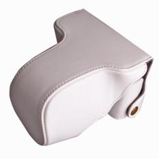 PU Leather Camera Case Cover Bag Camera Sling Strap untuk FujifilmXM1 XA1 XA2 XA10 X-M1 X-A1 X-A2 X-A10 16- 50mm Lensa Digital CameraBag-Intl