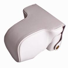 PU Leather Camera Case Cover Bag Camera Sling Strap untuk FujifilmXM1XA1 XA2 XA10 X-M1 X-A1 X-A2 X-A10 16-50 MM Lensa Digital CameraBag-Intl