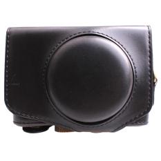 Toko Penutup Tas Kamera Kulit Pu Untuk Powershot Sx720 Hs Sx720Hs Sx720 Dengan Tali Bahu Hitam Oem Tiongkok