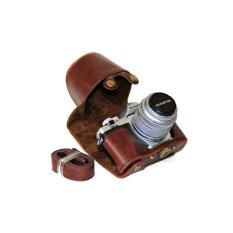 Tips Beli Pu Leather Camera Case Untuk Olympus E M10 Mark Ii Em10 Mark2 Kopi Yang Bagus