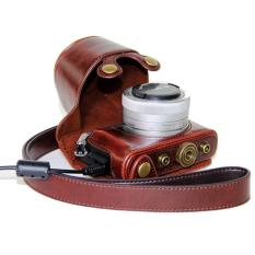 Kamera Kulit PU For Panasonic LUMIX GM5 GM1 GM1S GM2 (kopi)-International
