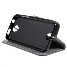 PU Kulit Kartu Pemegang Case untuk Acer Liquid Z330 Z320 M320 (Hijau)