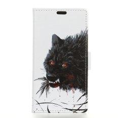 PU Kulit Dompet Kartun Case Cover untuk HTC 10 EVO/HTC Bolt-Intl