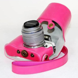 Toko Pu Leather Case Bag Cover For Olympus Epl7 E Pl7 Camera 14 42Mm Lens With Strap Lengkap Tiongkok