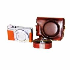 PU Case Kulit Digital Tas Kamera untuk Canon G9X PowerShot G9XWithStrap Fuxi Saya 1064-Intl