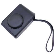 PU Leather Case Digital Camera Case Cover Bag untuk FujifilmXQ1XQ2XF-1 XF1 Digital Camera (Hitam)-Intl