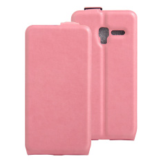 PU Leather Flip Cover Case For Alcatel One Touch Pop 3 (5) 5.0 Inch / Pixi 3 5.0 Inch (Pink) - intl