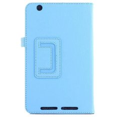 PU Leather Flip Cover For Acer Iconia One 8 B1-810 (Biru)-Intl
