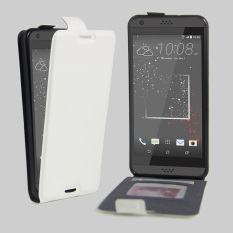 PU Leather Flip Cover for HTC Desire 530 630 (White)